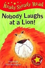 Nobody Laughts at a Lion! (Ready Steady Read), Paul Bright, New Book