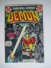 The Demon #8 (DC, 4/73) FN/VF Phantom of the Sewers! Kirby/Royer-a/Nice!!