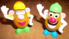 Mr. & Mrs. Potato Head Spud Buds Mini Hasbro Figurines 1999