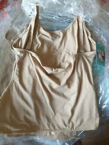 Cami vest open bust size 2xl slimming nude spanx