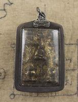 LP Ngern Antica Amuleto Tailandese Phra Chao Ong Five Budda Talisman Chance 1589