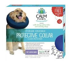 "Calm Paws Premium Inflatable Protective Collar L Dogs Neck 13""-18"""