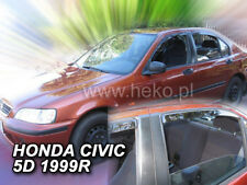 HEKO 17109 Windabweiser 4 tlg HONDA CIVIC 5 türig Stufenheck Combi Bj. 1995-2000
