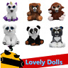 Feisty Toys Expression Soft Stuffed Animal Plush Doll Scary Funny Kids Xmas Gift