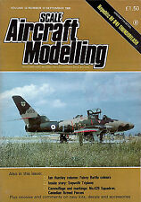 Republic RF-84F THUNDERFLASH ... Scale Aircraft Modelling September 1990 (12.12)