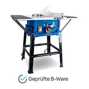 scheppach Tischkreissäge HS110 + Untergestell & Tischverbreiterung 2000W 87mm