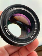 Nikon Nikkor AI-S AIS 50mm f1.4 Lens