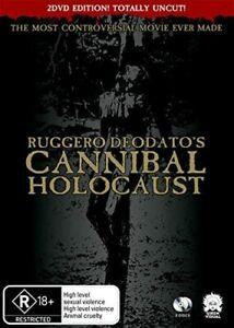 Cannibal Holocaust (Deluxe Amaray Edition) DVD NEW (Region 4 Australia)