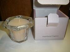 Longaberger Horizon Of Hope Crystal Filled Candle- Hopes Garden Fragrance 2001