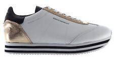 Rebecca Minkoff para mujeres Zapatos Tenis rmszlk 01 wplt Susanna Cuero Oro Blanco