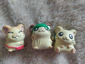 Hamtaro figures