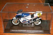 WAYNE GARDNER HONDA NSR500 1987 IXO RACING MOTORCYCLE 1/24 SCALE