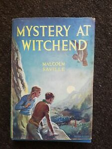 Mystery At Witchend By Malcolm Saville. Hardback 1960 Lone Pine Story D/W
