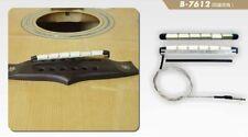 Belcat B7612 Pickup Piezo Tonabnehmer,Transducer, Westerngitarre acoustic guitar
