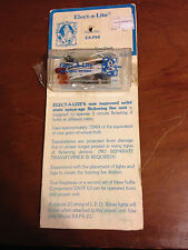 Dollhouse Miniatures Elect-a-Lite flickering fire unit wiring lights 3 bulb EA60