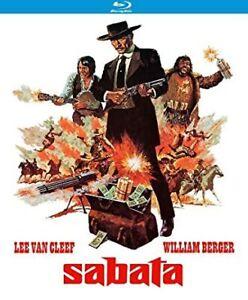 BRAND NEW & SEALED Sabata Lee Van Cleef  Region A Kino Blu Ray Release