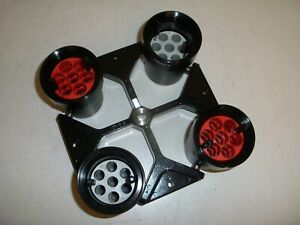 Heraeus Centrifuge Swing Bucket Rotor #8179 & #8172 Buckets with inserts