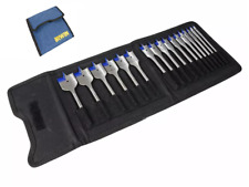 IRWIN 17 Pce Blue Groove Speedbor Wood Flat Spade Drill Bit Set 6mm-38mm 1840636