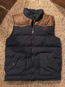 us polo assn puffer vest NWOT Size Large
