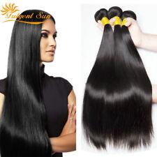10a 300g Thick Unprocessed Brazilian Peruvian Virign Human Hair Weave 3 Bundles
