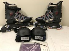 K2 Camano-M Inline Skates Men's Size 7 With Knee And Elbow Pads
