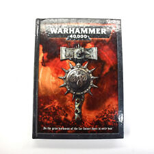WARHAMMER 40K Rulebook Rules Book #1 Hardcover Good condition 5th
