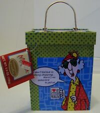 Maxine Floyd Empty Metal Tin by Hallmark, ''There's No Salesclerk To Yell At''