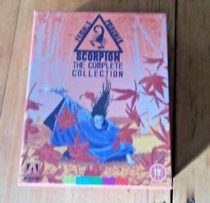Female Prisoner Scorpion Blu ray box set new & sealed region b Arrow Video