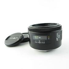 Minolta AF 1:1.7/50mm Objektiv lens + caps