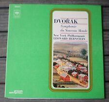 Disque LP VINYLES 33 T  * DVORAK - NEW YORK PHILHARMONIE LEONARD BERNSTEIN  * !!