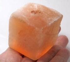 624Ct Natural Orange Selenite Gypsum Crystal Facet Rough Specimen Brazil YOG10