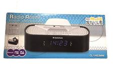 RETRO RADIO Koffer-Küchen-Radio AudioSonic RD-1547 Nostalgie Design weiß//blau
