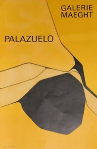 Pablo Palazuelo, Galerie Maeght, Lithograph Poster