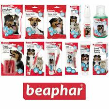 More details for beaphar dog & cat dental sticks toothbrush toothpaste fresh breath spray treats