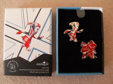London 2012 Paralympic Venue Exclusive Mandeville Union Flag Pin Badge Boxed Set