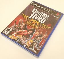 ps2 GUITAR HERO AEROSMITH pal fr neuf sous blister sony playstation 2