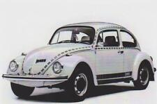carte postale - VW VOLKSWAGEN COX BEETLE SERIE S 761 JEANS DE 1974 - 10X15 CM
