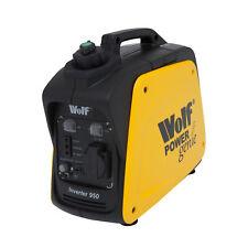 Wolf 800w 2.6HP 4 Stroke Petrol Inverter Suitcase Portable Generator 240v 12v