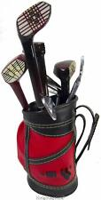 Golf Bar Utensil Set Cart Bag Clubs Vintage 60's Japan 8 piece