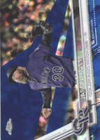 JASON MOTTE 2017 TOPPS CHROME SAPPHIRE EDITION #559 ONLY 250 MADE