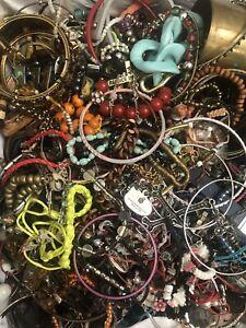 Huge Bracelet Lot - 11 Lbs -Resell Repurpose Wear Crafts - Bracelets Only