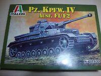 PZ.KPFW.IV AUSF. F1/ F2 1/35 SCALE  ITALERI  NUEVO-NEW