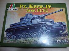 Pz.kpfw. IV Ausf. F1/f2 1 35 Italeri