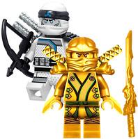 NINJAGO MINIFIGURES TOY SETS NINJA GOLD LLOYD TITANIUM ZANE LEGO MASTER minifig