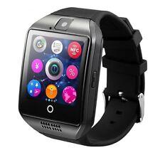Premium SmartWatch Q18 SCHWARZ Bluetooth Uhr iOS Android Samsung SIM Smart Watch