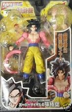 New Dragonball GT Hybrid Action Saiyan Son Goku Super Saiyan 4 Bandai