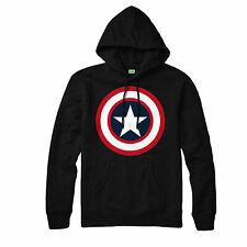 Captain America Hoodie, Avenger Legends Heroes Comics Adult & Kids Hoodie Top