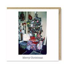 Santa's Been Unique Funny Vintage Retro Christmas Card - Tree Decorations 1970's
