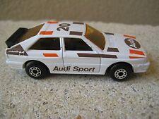 VTG. MATCHBOX CAR 1982 AUDI QUATRO  SPORT CAR AUDI 20 IN EXCELLENT   CONDITION