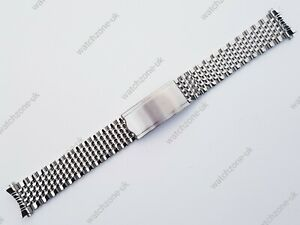 New 18MM Bead of Rice Solid Stainless Steel Watch Strap / Bracelet for Omega